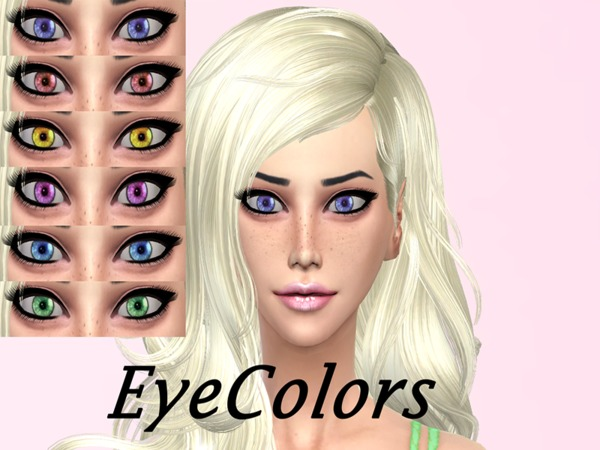 Cosmic Eye Colors by Genius