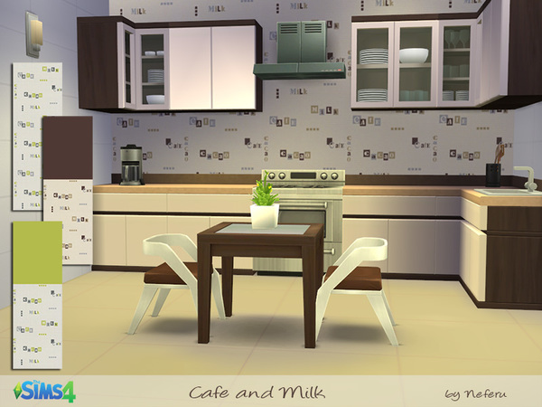 Cafe and Milk by Neferu