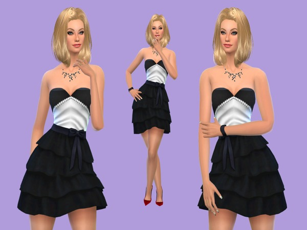 Charmy Party Dress by Charmy Sims Portfolio