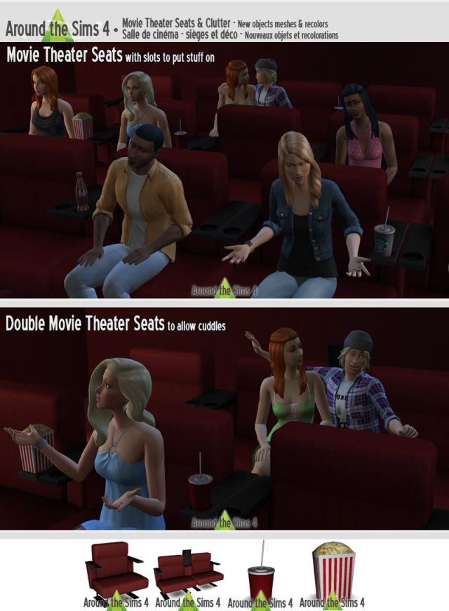 Movie Theater Set by Sandy