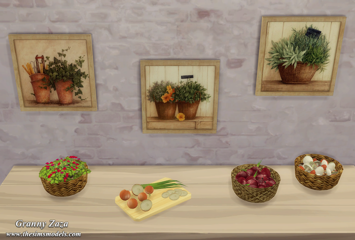 Decorative Food and Paintings by Granny Zaza