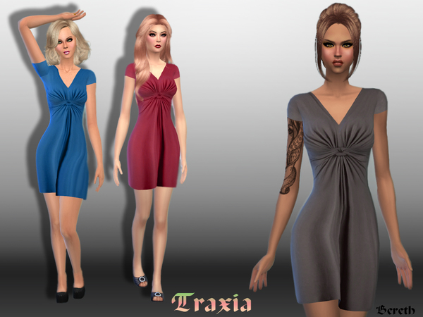 Traxia, Short Dress by Bereth
