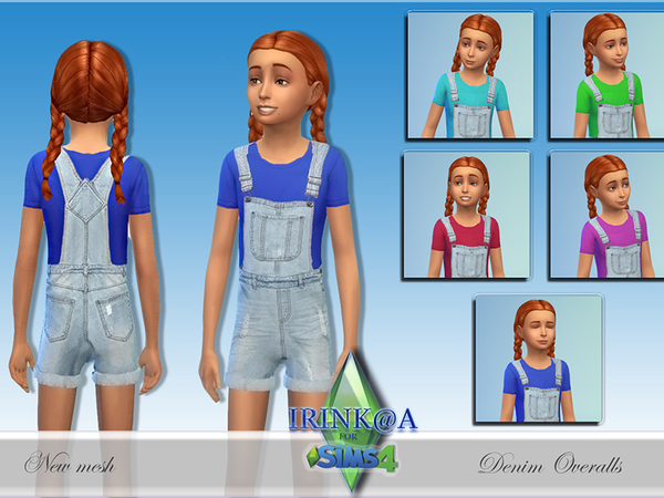 Child Denim Overalls by Irishkakic