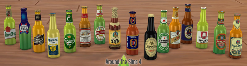 Beers of the World in English & Simlish by Sandy