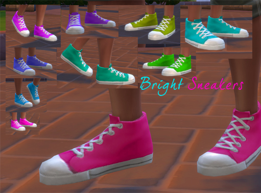 Sneaker Recolors by Storytellersimmer