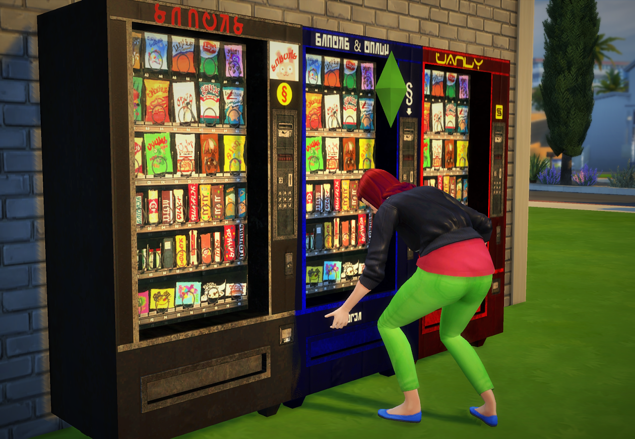 Simlish Secolor of sg5150s Vending Machine by Budgie2budgie