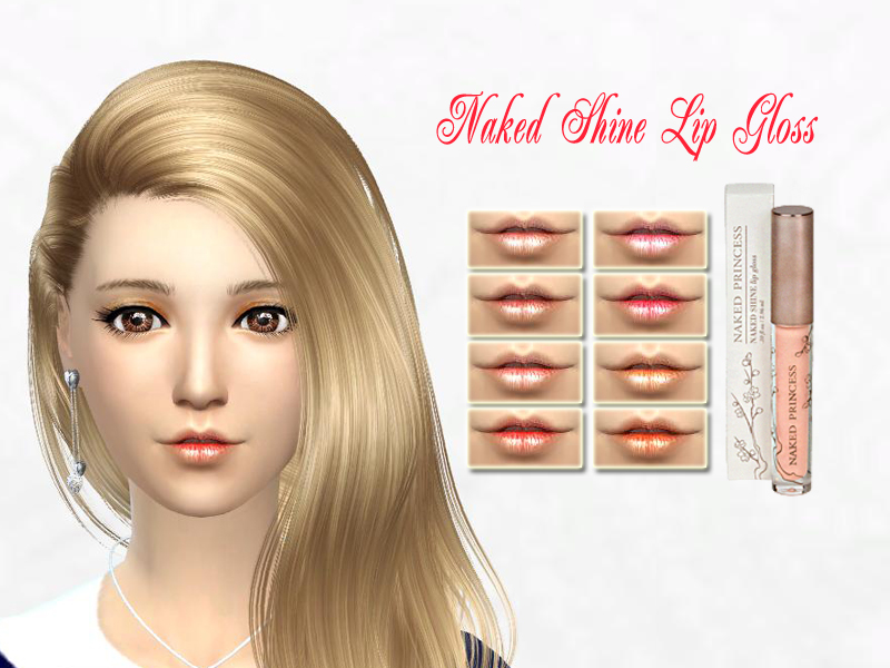 Naked Shine Lip Gloss by SakuraPhan