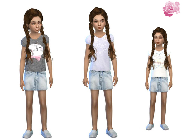 cute shirt set for girls by simsoertchen