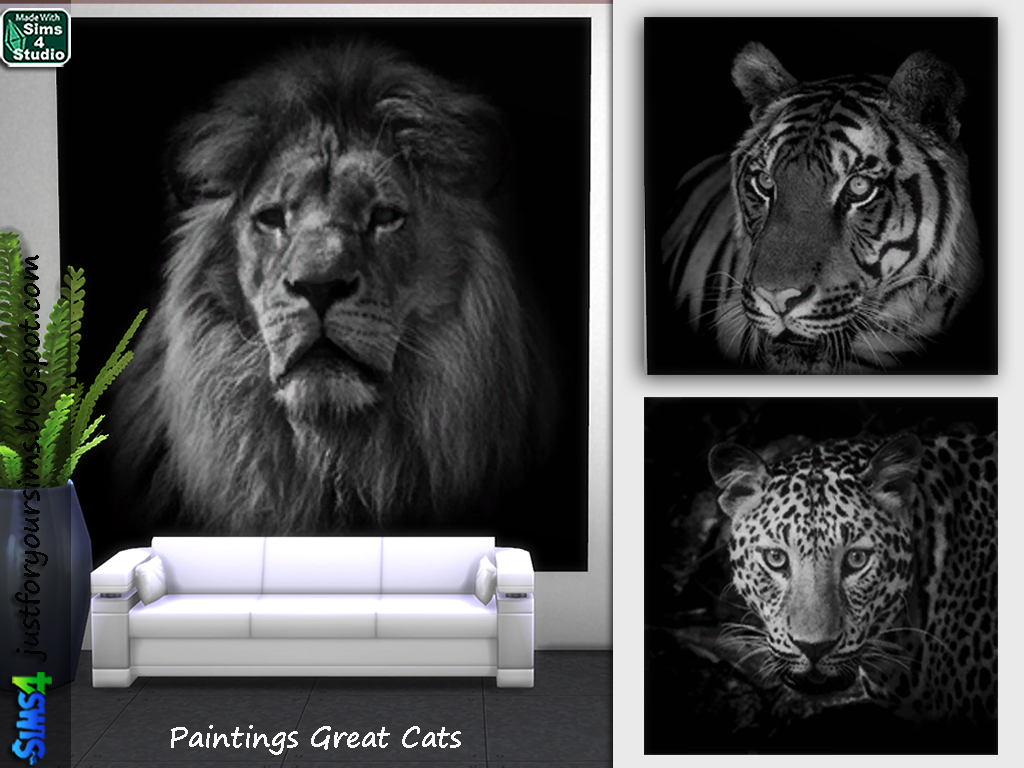 Painting Great Cats by Just For Your