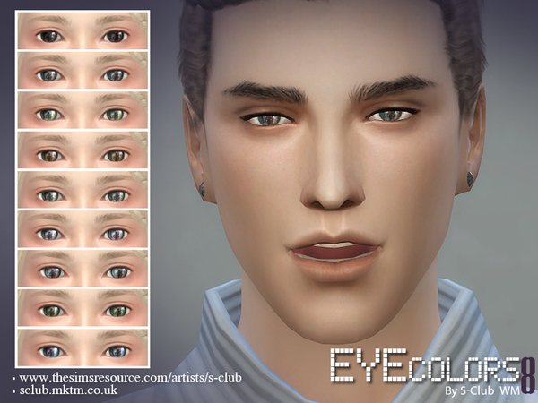 S-Club WM thesims4 eyecolor 08