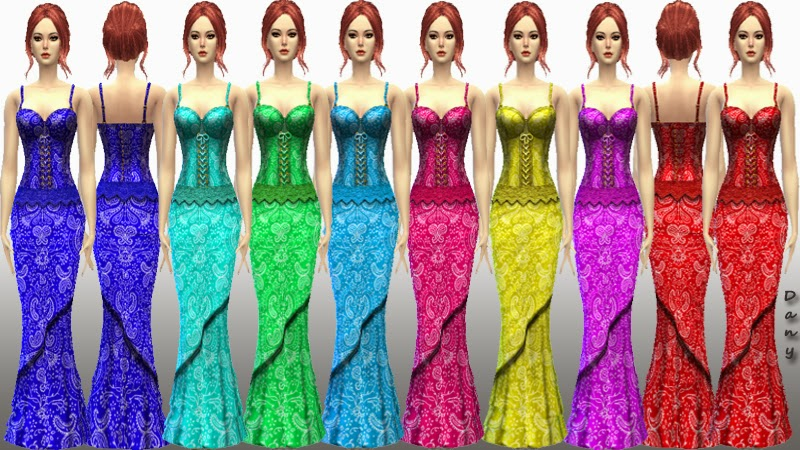 LolaBell Long Dress by Danys Blog