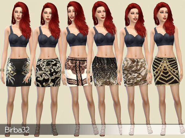 Triumph mini skirts by Birba32