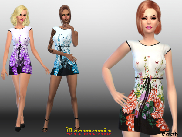 Desmonia-Casual Dress by Bereth