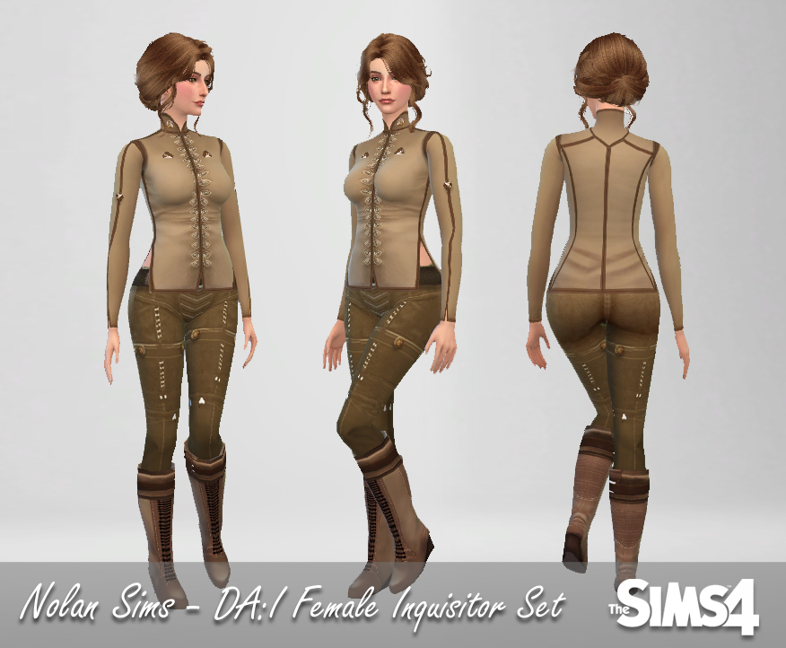 Dragon Age: Inquisition Clothing Set for Females by NolanSims