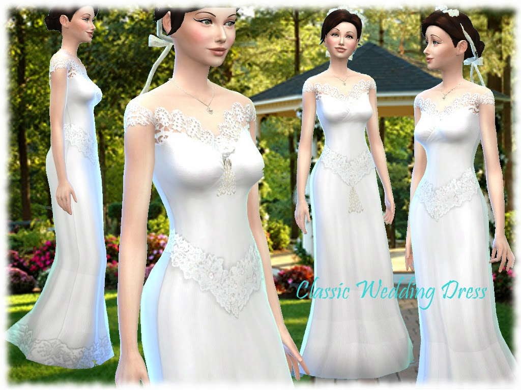 Classic Wedding Dress in 6 Styles