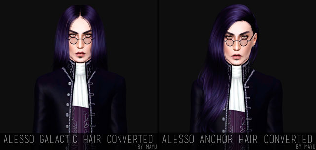 Alesso Hairs Converted by MAYU