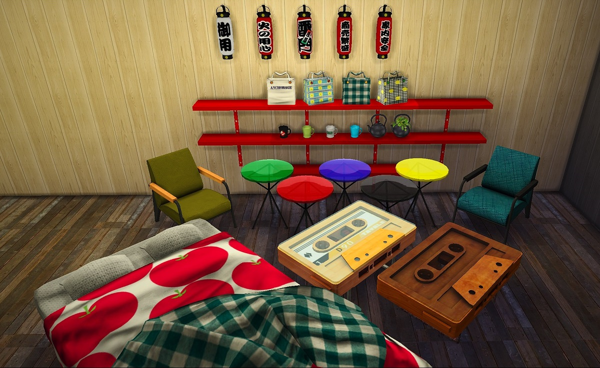 Various Furniture and Clutter by Simplestudio404