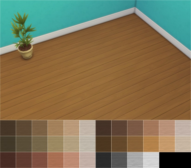 Limber Lumber Traditional Hardwoods Floor Recolors by Veranka