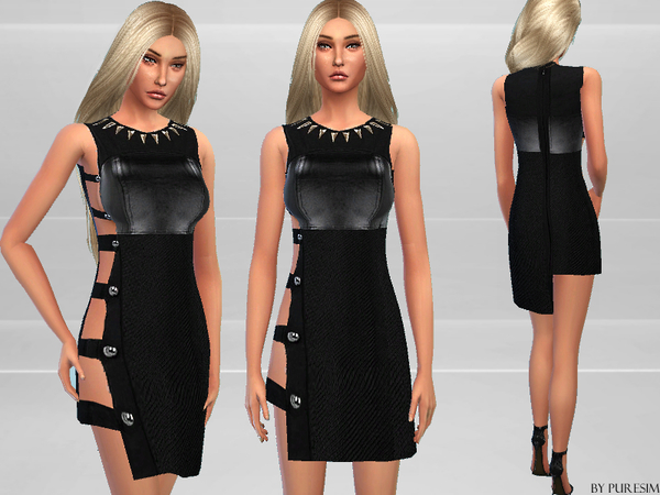 Strappy Dress by Puresim