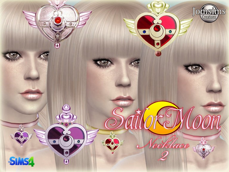 Sailor Moon Necklace 2 by JomSims