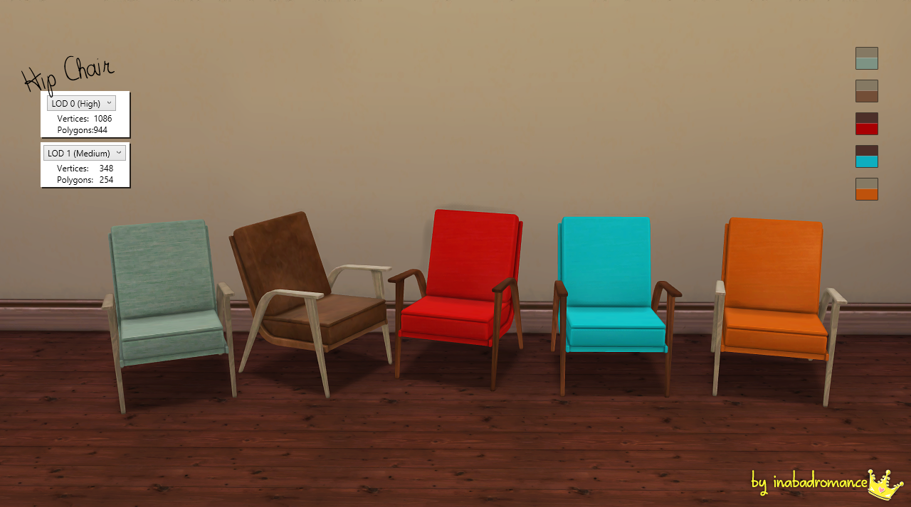 TS3 to TS4 Conversion Objects by Inabadromance