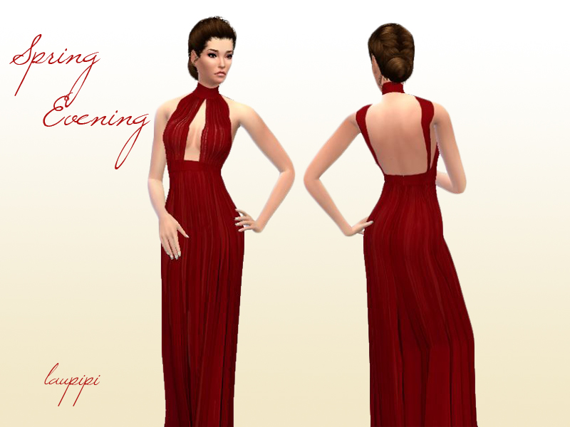 Spring Evening Dress by Laupipi