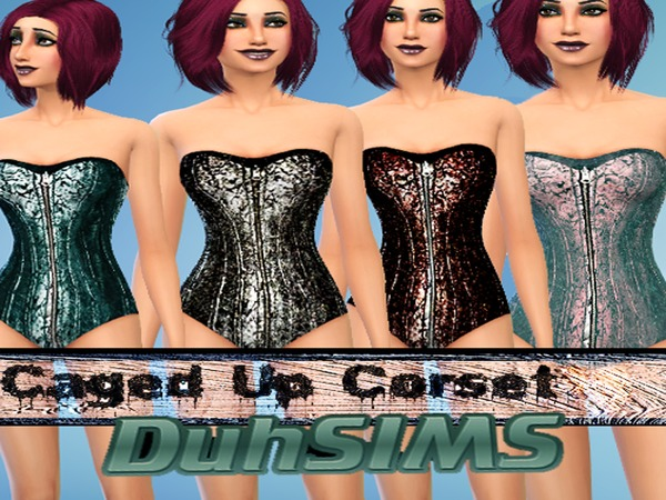 Duhsims Caged UP Corset by Duhsims