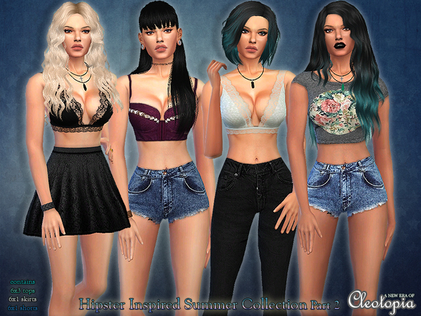 Set34- Hipster Inspired Summer Collection Part ll by Cleotopia