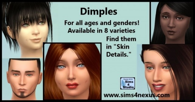 Dimples by Sims4Nexus