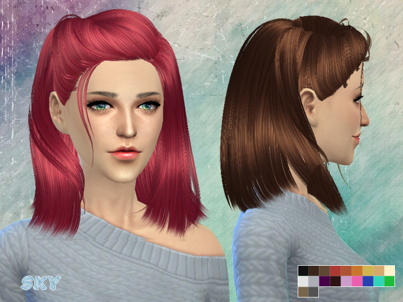 skysims hair 260