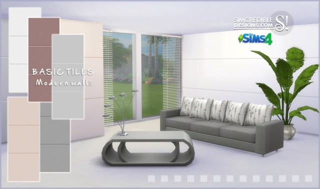 Walls Modern Basic by Simcredible
