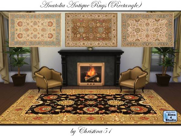 Anatolia Antique Rugs (Rectangle) by Christina51