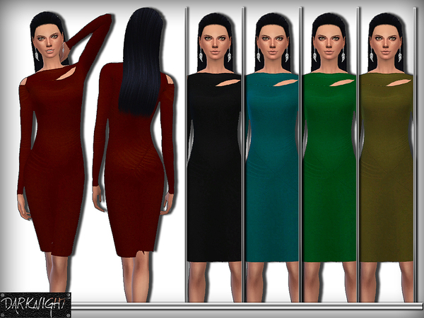 Cutout Stretch-Jersey Dress by DarkNighTt