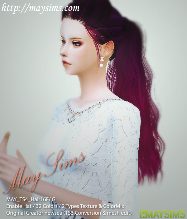 Hair16F/G (Newsea) by May Sims