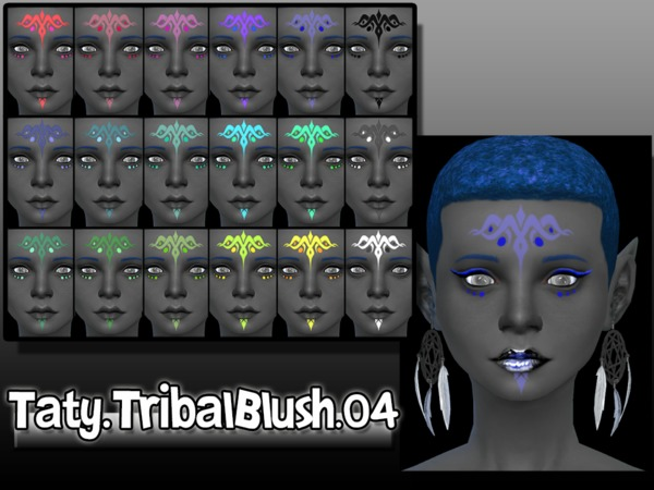[Ts4]Taty_Tribal_Blush_04 by tatygagg