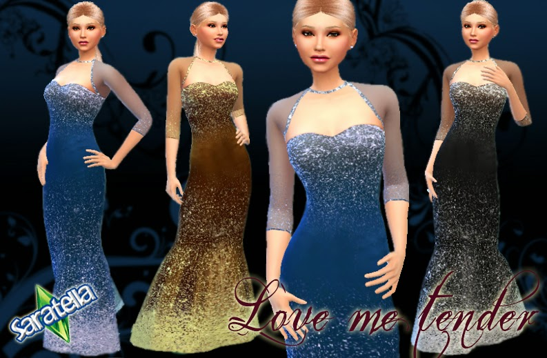 Love Me Tender Gown by Saratella