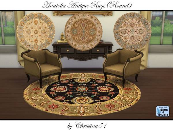 Anatolia Antique Rugs (Round) by Christina51