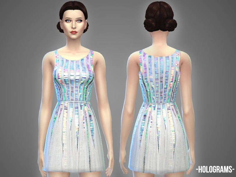 Holograms - dress  BY -April-