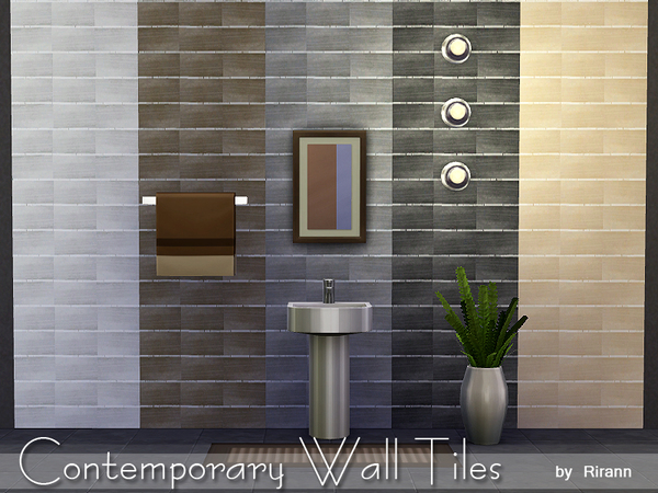 Contemporary Wall Tiles by Rirann