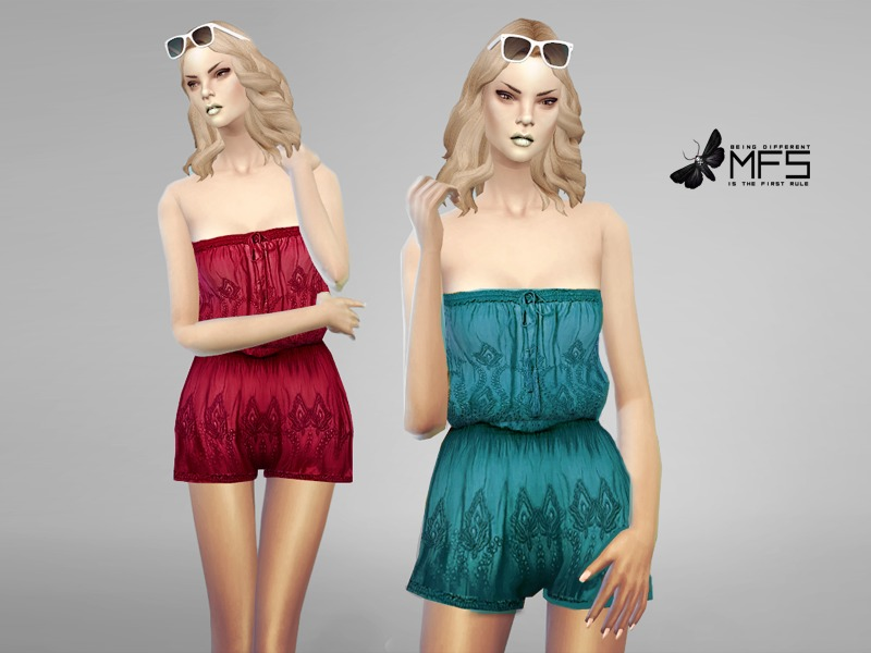 MFS Summer Romper  BY MissFortune