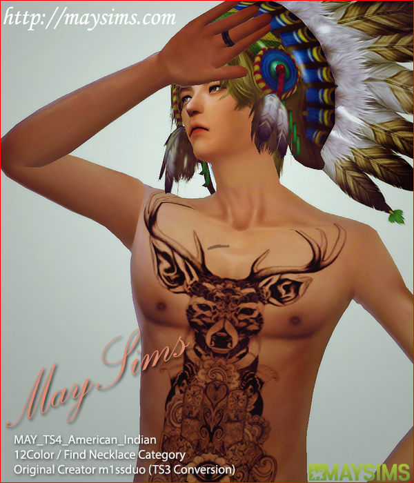 American Indian by May Sims