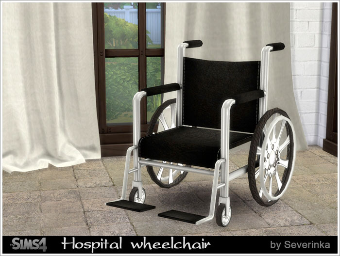 Hospital wheelchair by Severinka