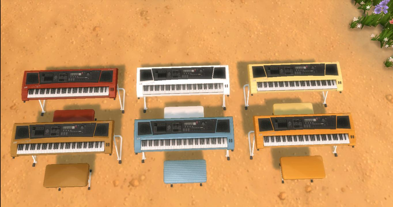TS4 Keyboard Piano by AdonisPluto