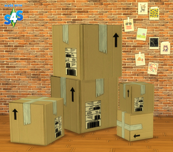 TS2 to TS4 - Chimerical's Boxes Conversions by WhereAreMySims