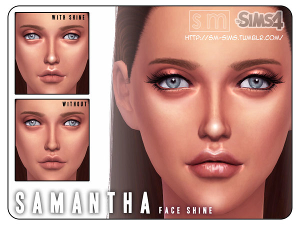 [ Samantha ] - Face Shine by Screaming Mustard