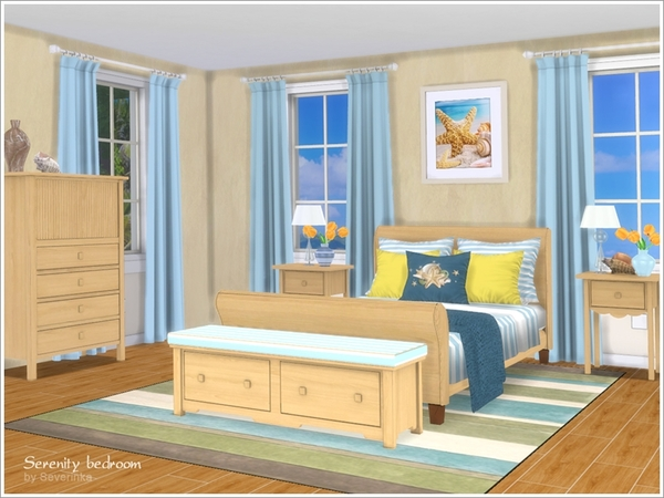 Serenity bedroom by Severinka