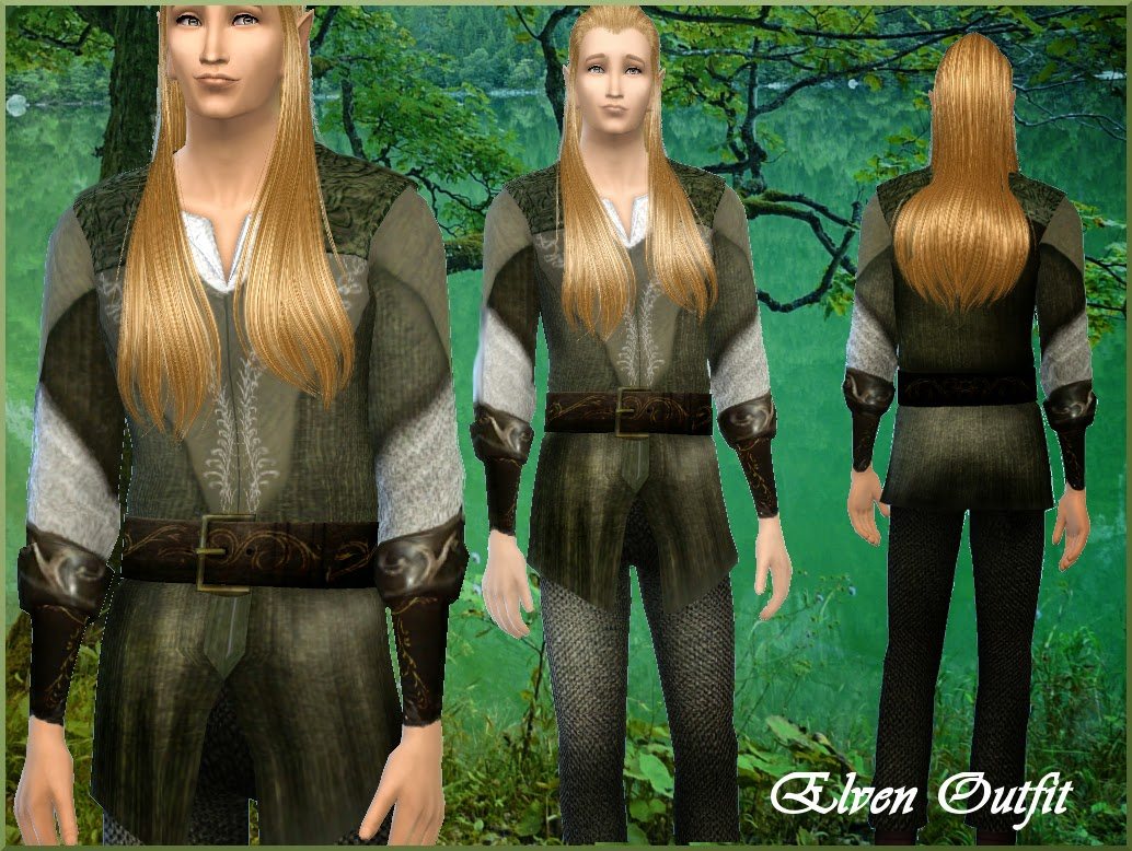 Legolas Inspired Elven Outfit от Alin22