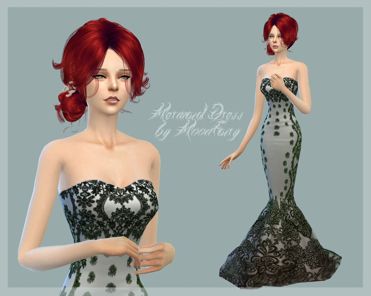 Mermaid Dress by MoonFairy