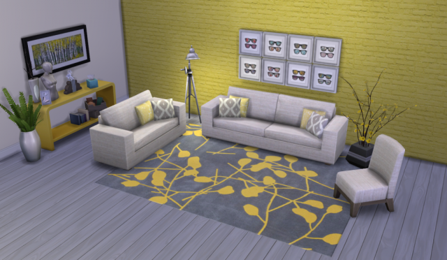 Color Me Yellow Modern Rugs by Peacemaker ic