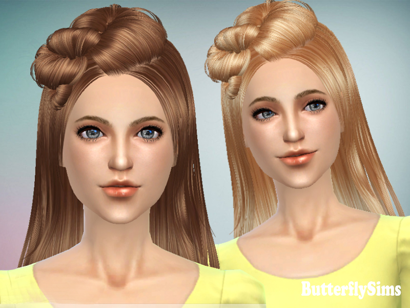 Hairstyle 078M by Butterfly Sims
